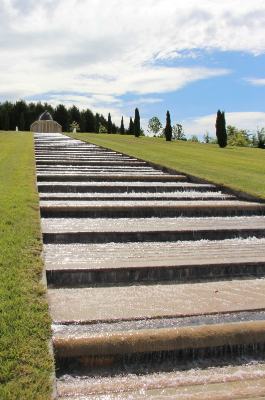 Water Cascade. Built By The Romans? No, But It's Built To Last