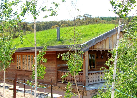 The Highlight Of The Garden - The Grass Roofed Studio