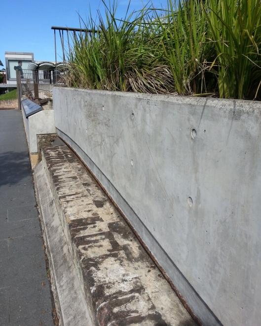 Paddington Reservoir Concrete