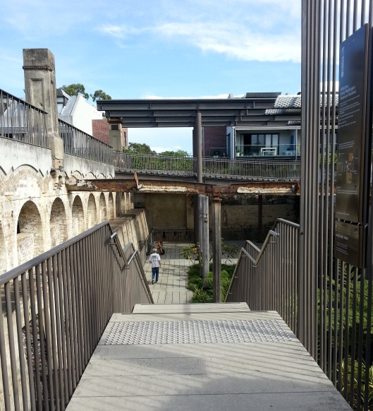 Paddington Reservoir Entrance Stairs