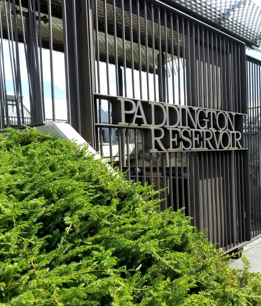 Paddington Reservoir Entrance